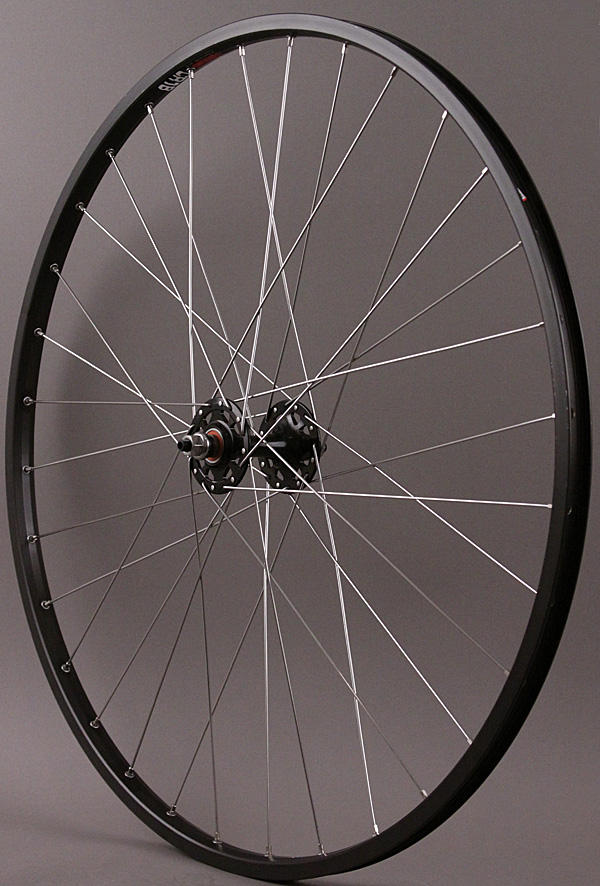 Sun CR18 Black 700c 36h Fixed Gear Singlespeed Front Wheel Black