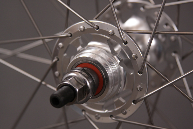 "Sun CR18 27"" Inch REAR WHEEL FIXED GEAR High Flange Hubs 36 Hole"