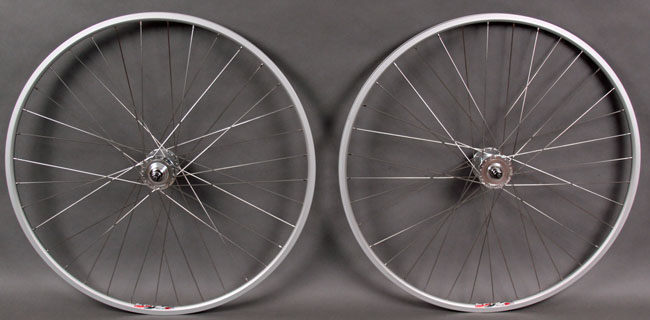 WEINMANN LP18 SILVER fixed gear track single speed wheelset