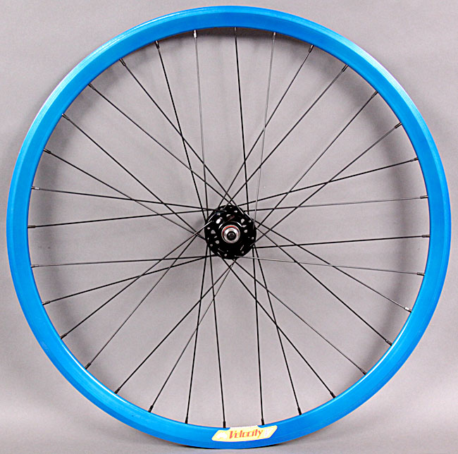 Velocity Deep V - Electric Blue Front Wheel