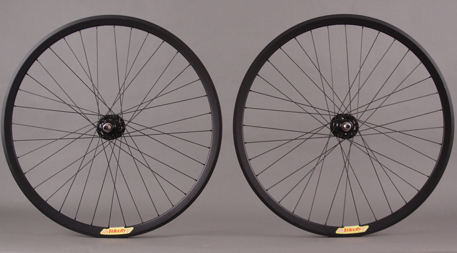 Velocity Deep V Black NMSW Fixed Gear Wheelset Formula 36 Hole