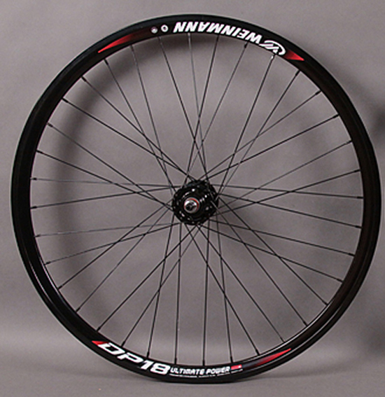 Weinmann DP18 BLACK fixed gear Track REAR wheel Formula hub