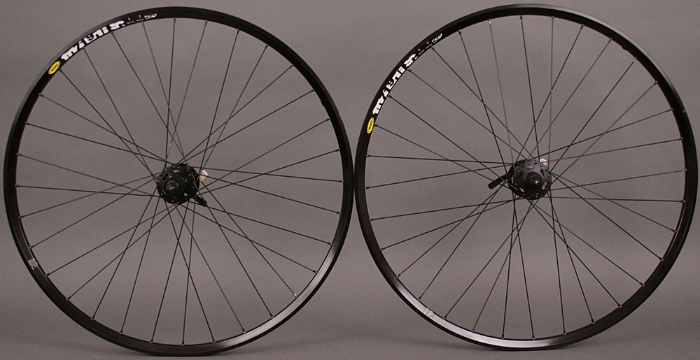 Mavic XM719 29er Wheelset Shimano XT 6 Bolt Disc brake