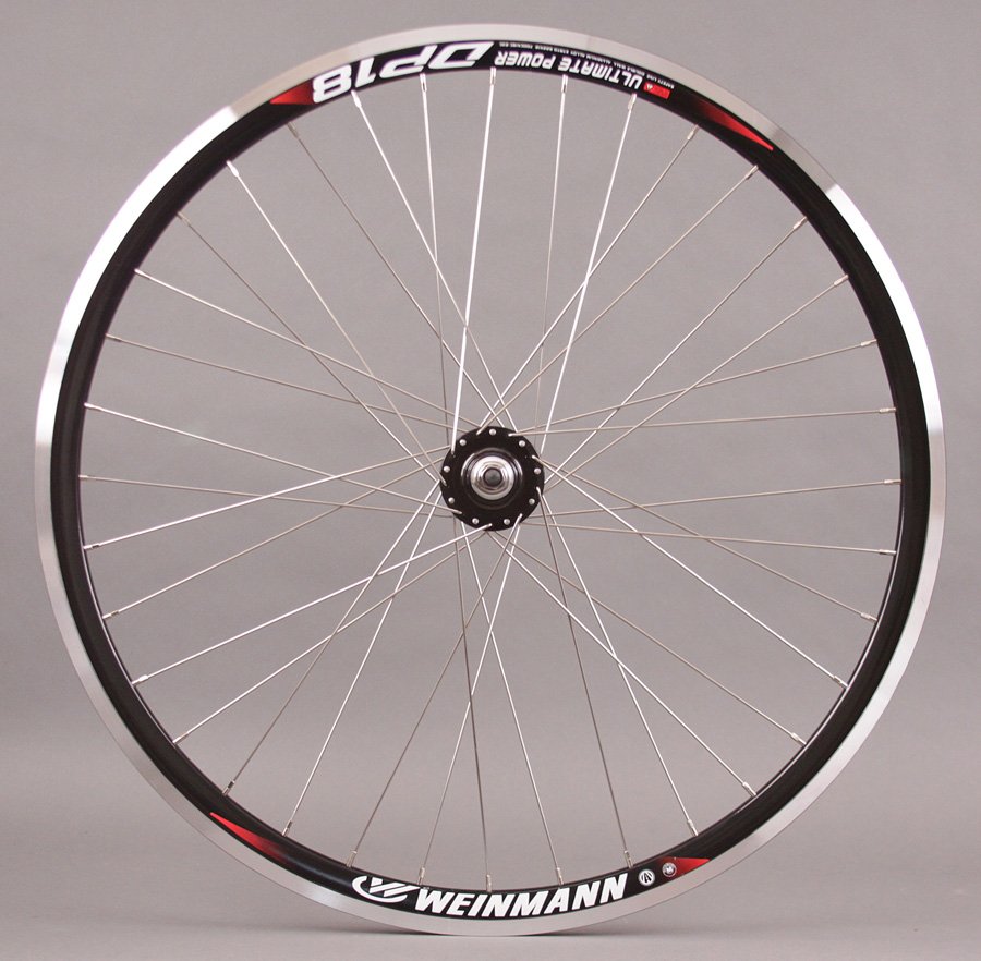 Weinmann DP18 BLACK 36h track fixed gear Wheel Formula Loose Hub