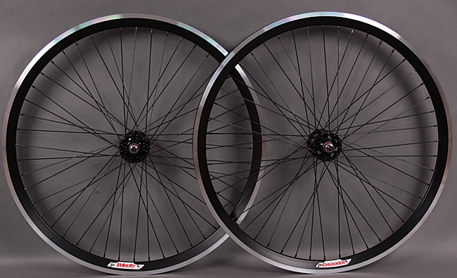Velocity Chukker 48 Hole Fixed Gear Singlespeed Wheels Machined