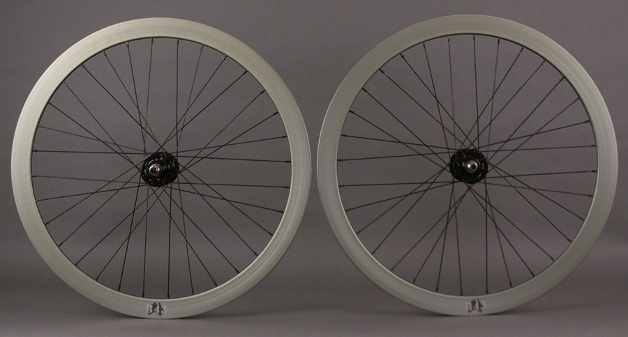 Velocity B43 Olive TRACK Bike Fixed Gear Wheelset
