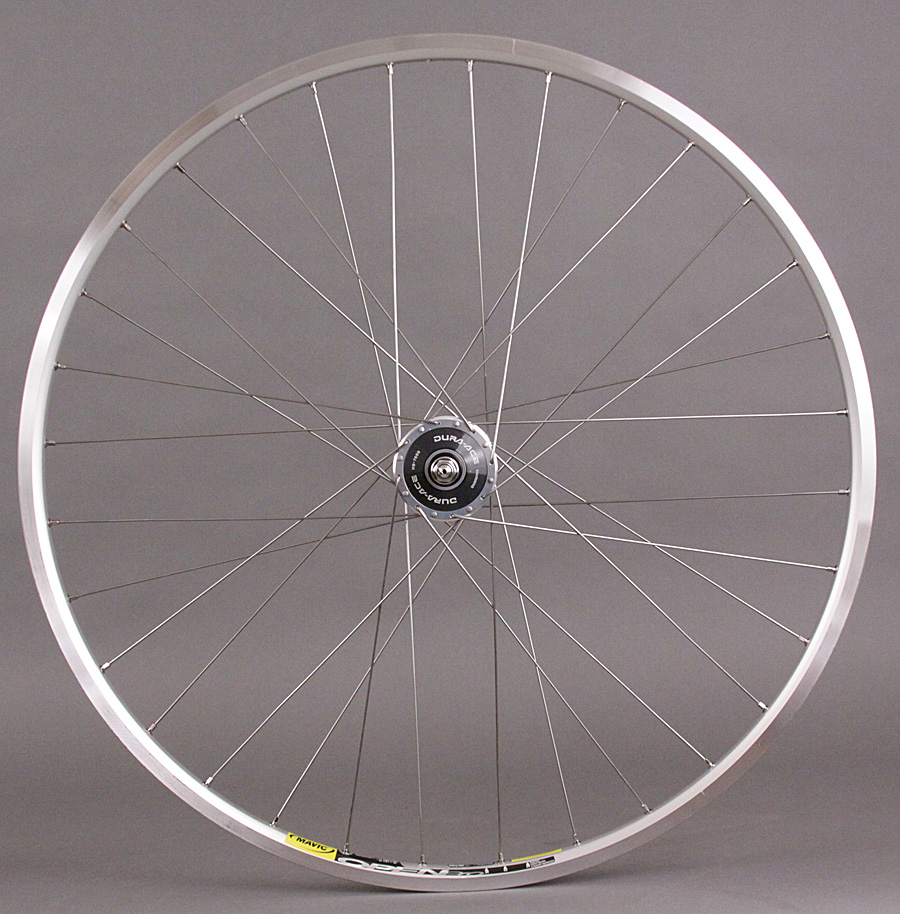 Mavic Open Pro - Dura Ace 7600 FRONT Silver Track Wheel 32 Spoke