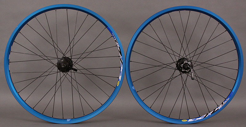 Mavic Blue EX 721 Shimano XT 6 bolt Disc Mountain Wheelset