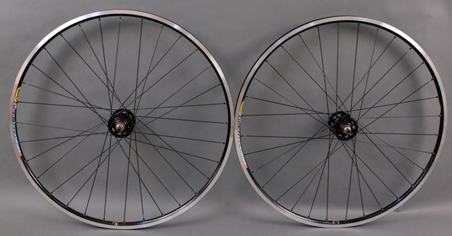 Mavic Open Pro BLACK Track Fixed Gear Wheelset
