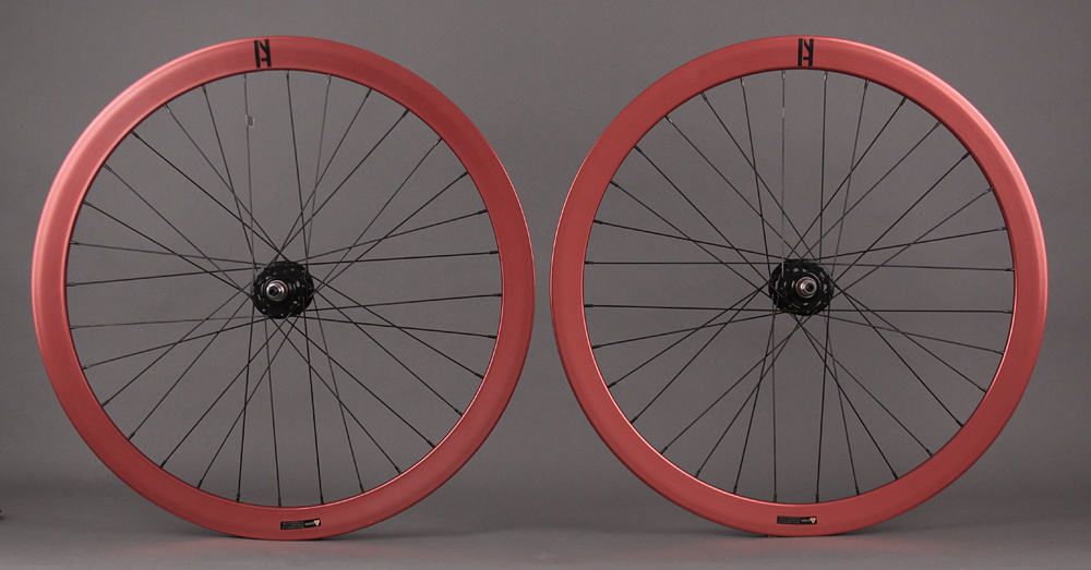 H + Plus Son Formation Face Track Fixed Singlespeed Wheels Red