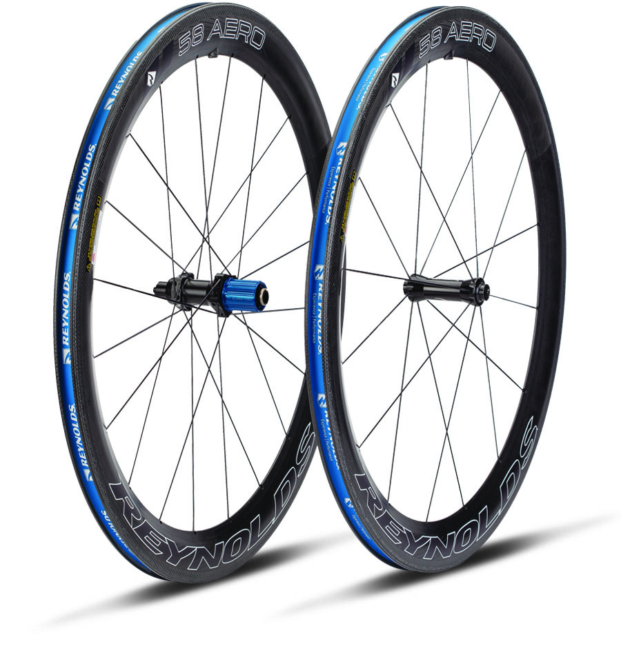 Reynolds 58 Aero Carbon Tubular Wheelset Shimano 11 Speed 1340g