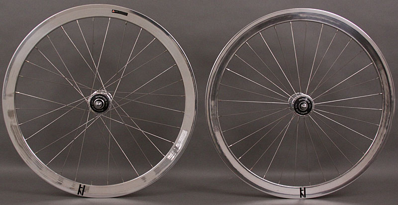 H Plus Son Formation Face Dura Ace Track hubs Wheelset