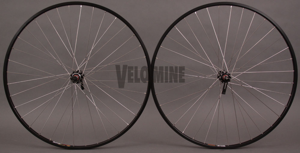 Sun M13 Black Rims 36h 126mm fits 5 6 7 speed Vintage Road Bikes