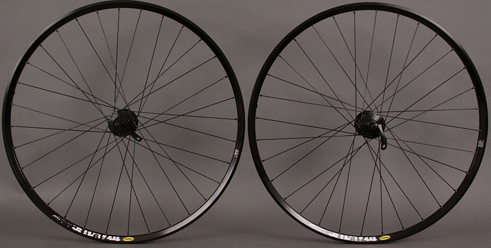 Mavic TN719 29er Mountain Wheelset Shimano 6 Bolt Disc Hub