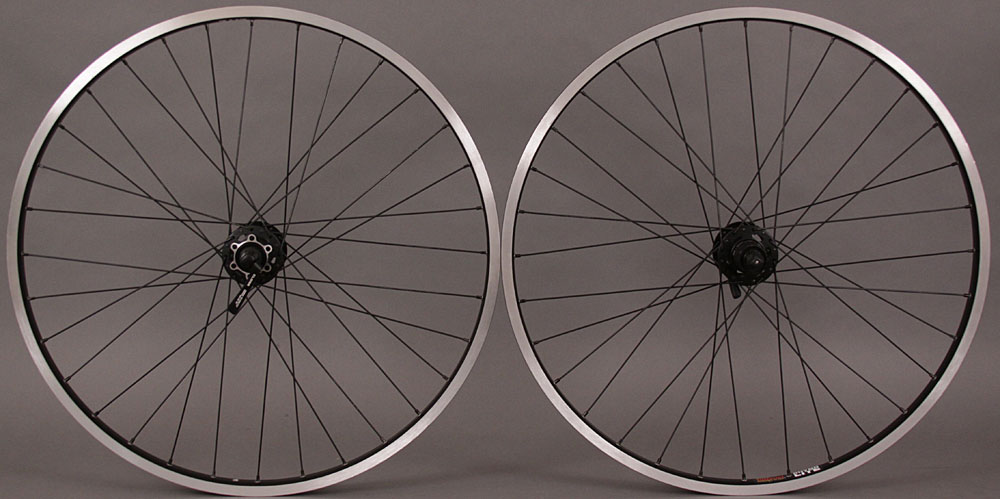 "Sun Rhyno Lite Wheelset 26"" Shimano XT Disc 6 Bolt or V Brake"