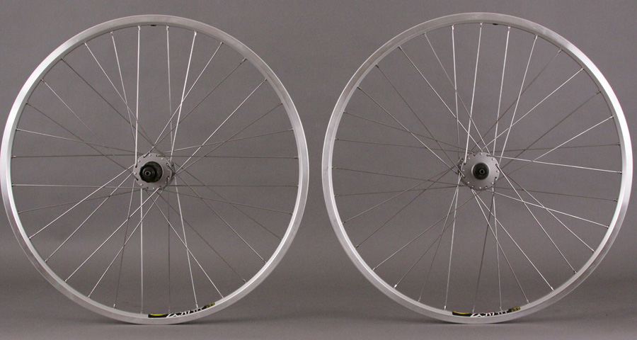 Mavic XC717 Wheelset Shimano Deore Hubs 6 Bolt Disc or V Brake