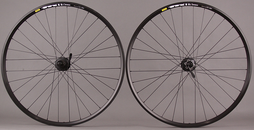 Mavic TN119 29er Shimano 6 Bolt Disc Mountain Bike Wheelset