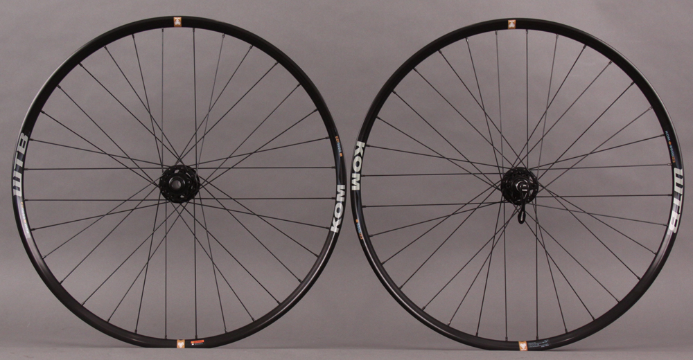 WTB KOM I23 TCS 650b Wheelset SRAM X9 15mm Thru Front - QR Rear