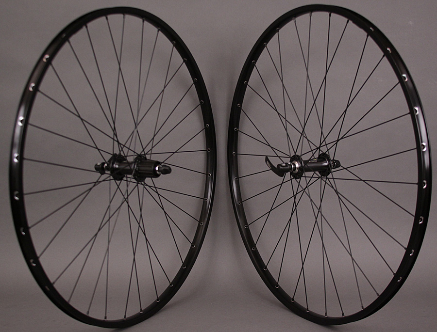 H + plus Son TB14 Black 32h - Shimano 105 5800 hubs Wheelset