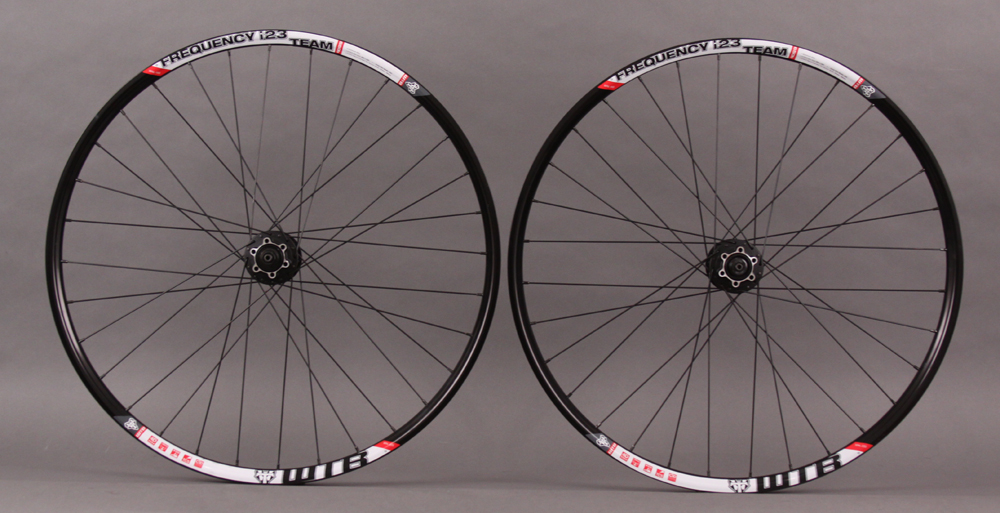 WTB Frequency I23 TCS 650B 27.5 Wheelset Shimano Deore QR hubs