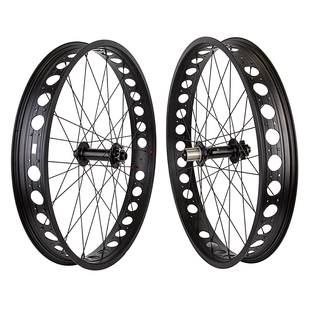 Origin8 Fat Bike Wheelset 190mm R 150mm F 10 Speed 80mm Rims