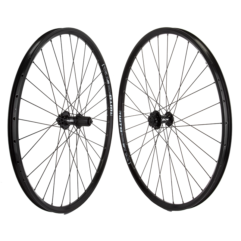 WTB FX23 29er Mountain Bike Wheelset 6 bolt disc hubs Black