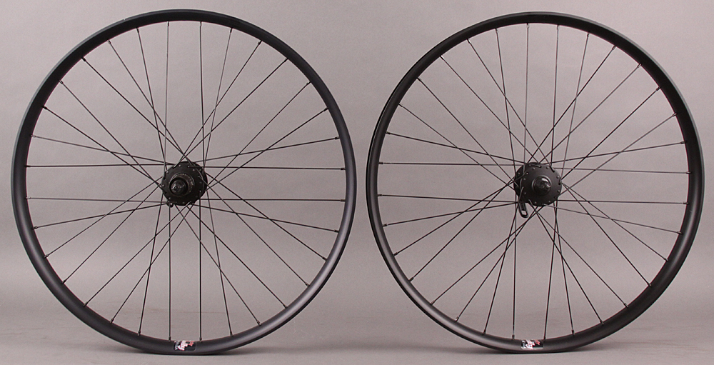 "Velocity Dually 26"" Mountain Bike Wheelset Deore Hubs 6 Bolt"