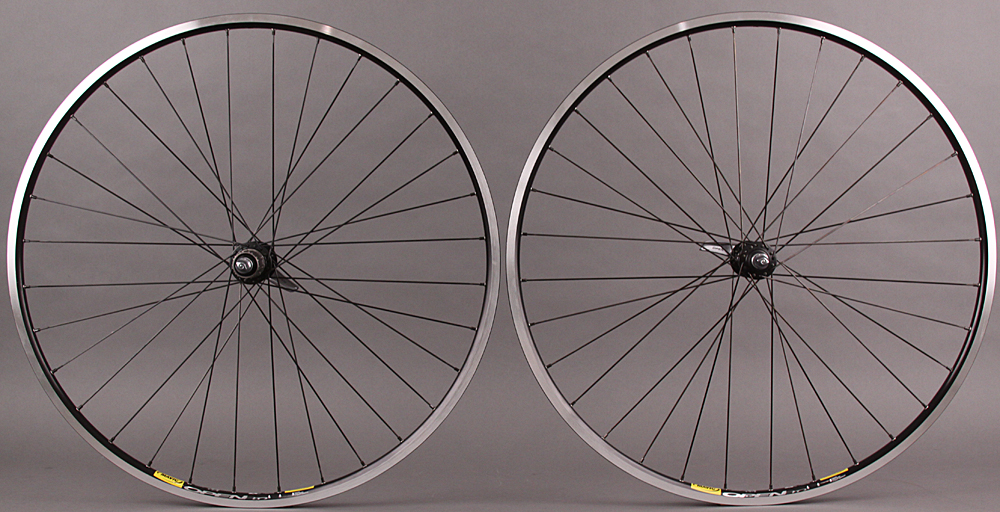 Mavic Open Pro Road Bike Wheelset DT Swiss 370 Hubs 32h