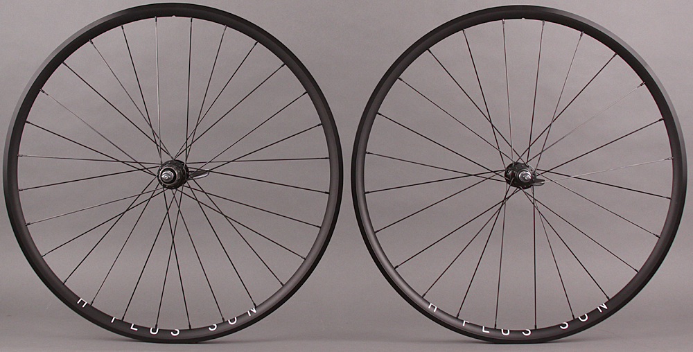 H Plus Son Archetype - Dura Ace 9000 11s Hubs Road Bike Wheelset