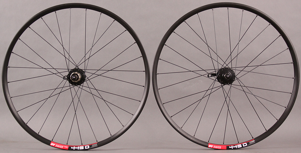 "DT 445D Rims 26"" Wheelset 6 Bolt Disc Sealed Bearing Hubs DT 2.0"