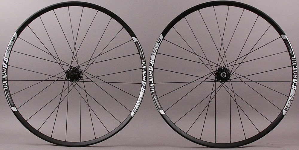 "DT Swiss Ltd. XR331 26"" MTB Wheelset 28h Hubs 6 bolt Disc QR"