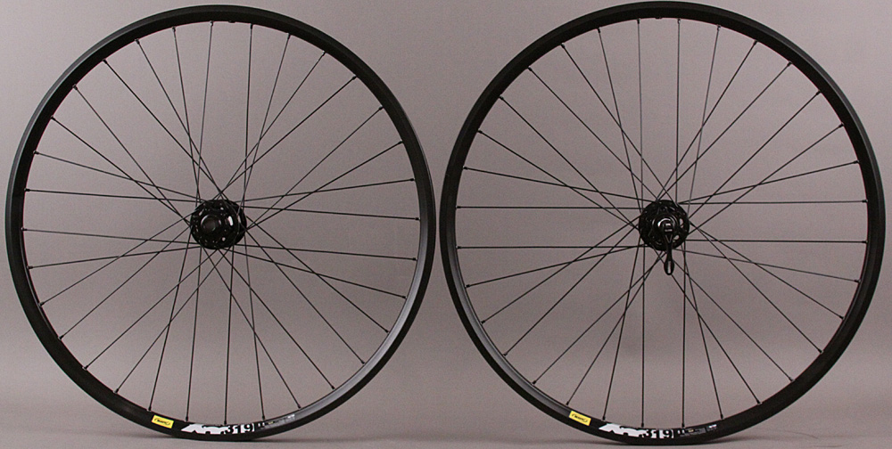 Mavic XM319 Rims 27.5 650b Mountain bike Wheelset SRAM X9 6 Bolt