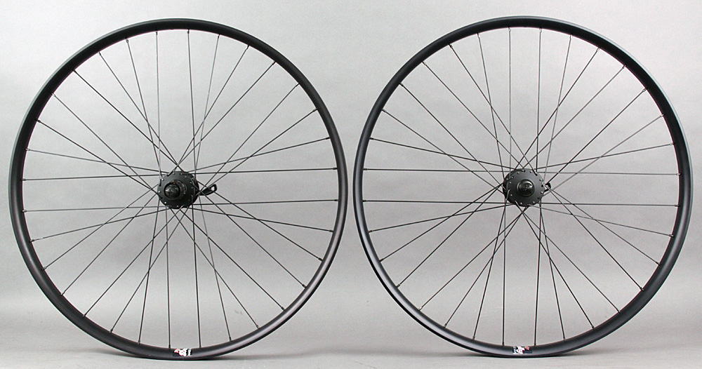 Velocity Dually 29er Mountain Bike Wheelset Deore Hubs 6 Bolt