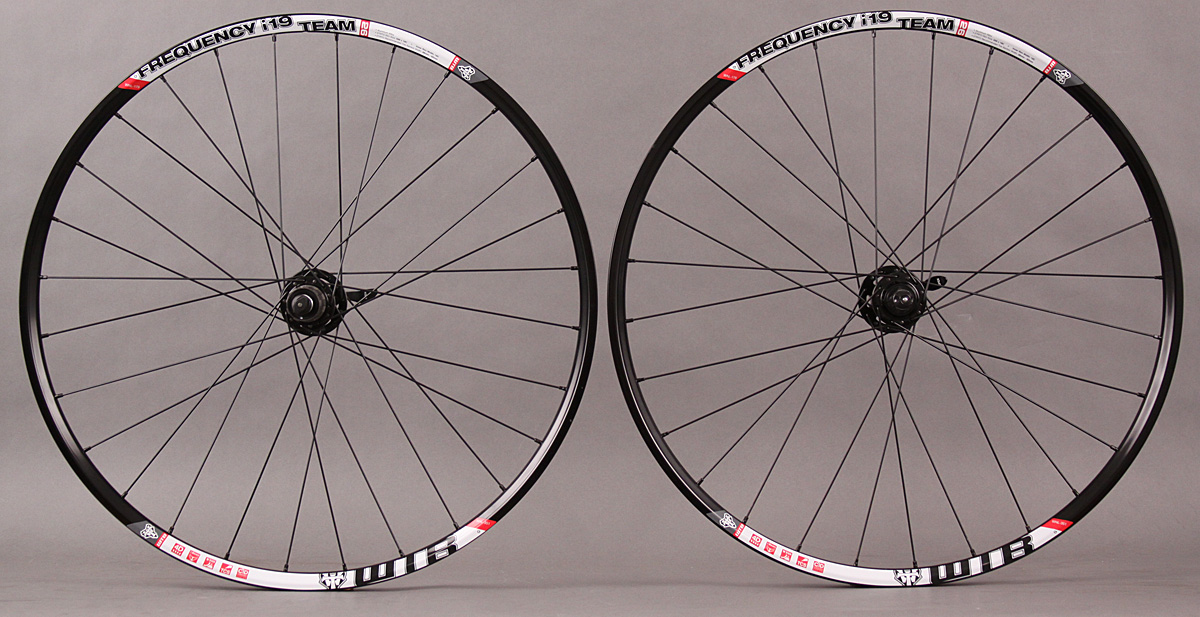 "WTB Frequency I19 TCS Team 26"" Wheelset SRAM X9 QR Hubs DT 2.0"
