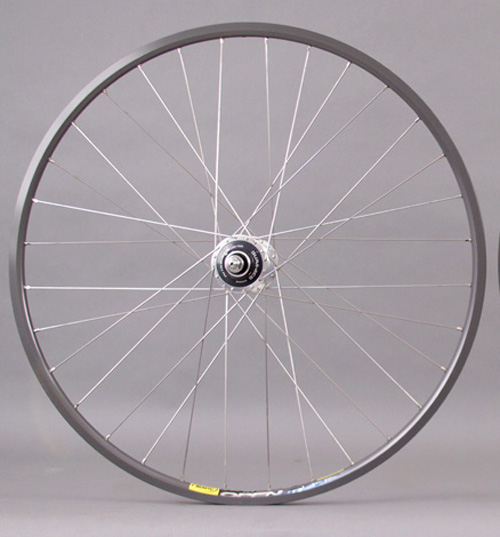 Mavic Open Pro CD Dura Ace 7600 Track hub Rear Wheel