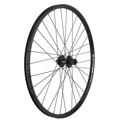 Mavic EN323 29er 6 bolt Disc 32h Shimano M525 8-10 speed QR