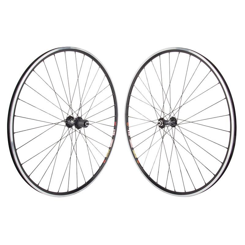Sun Assault Black DT 32h Wheelset 8-10 speed Shimano 700c