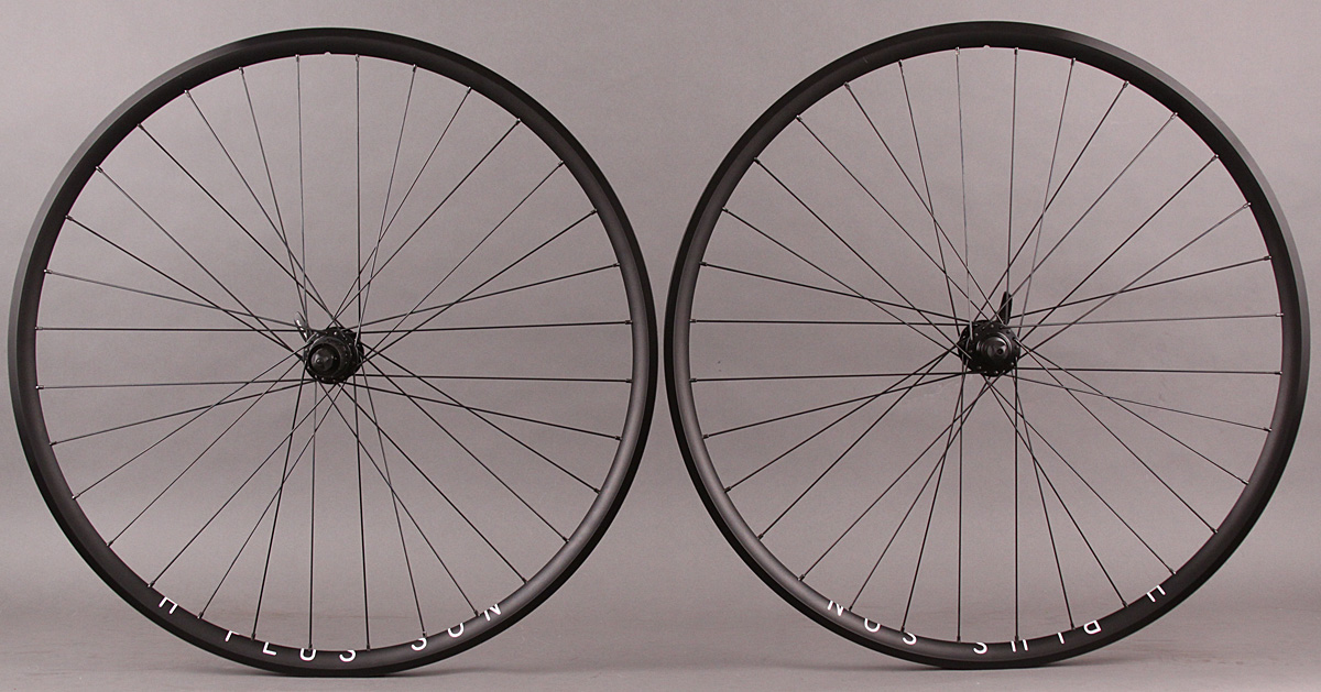 H Plus Son Archetype 28h Shimano RS505 Road Disc Brake Wheelset