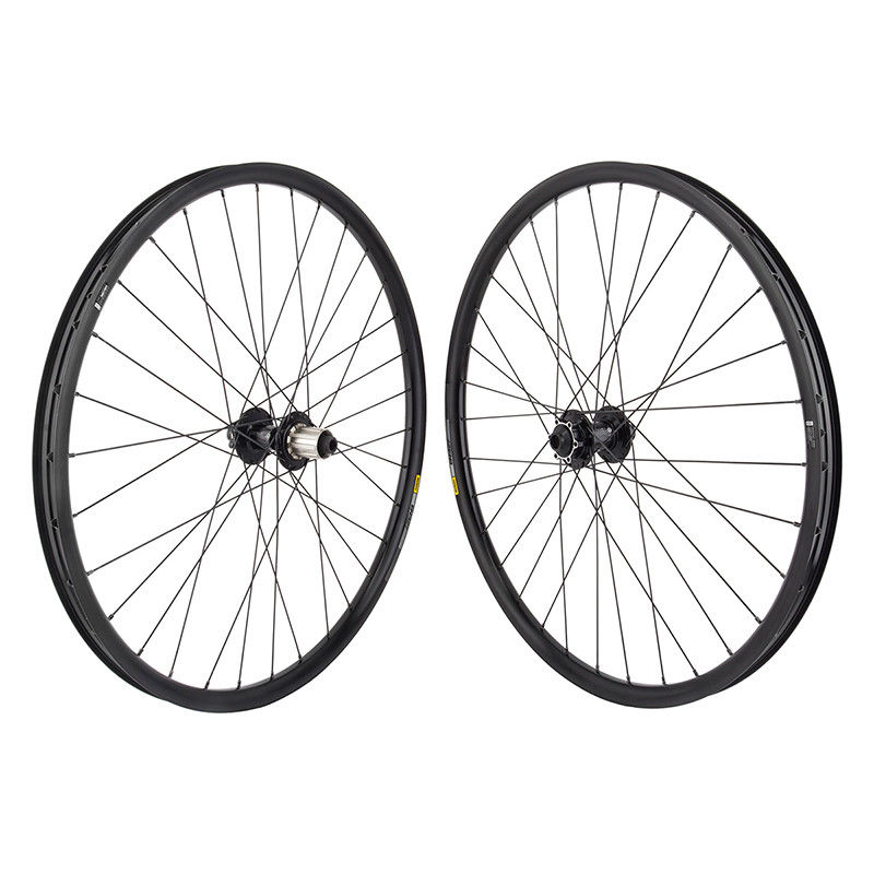 Mavic XM319 29er MTB Wheelset 6 Bolt Disc Black fits SRAM/Shi