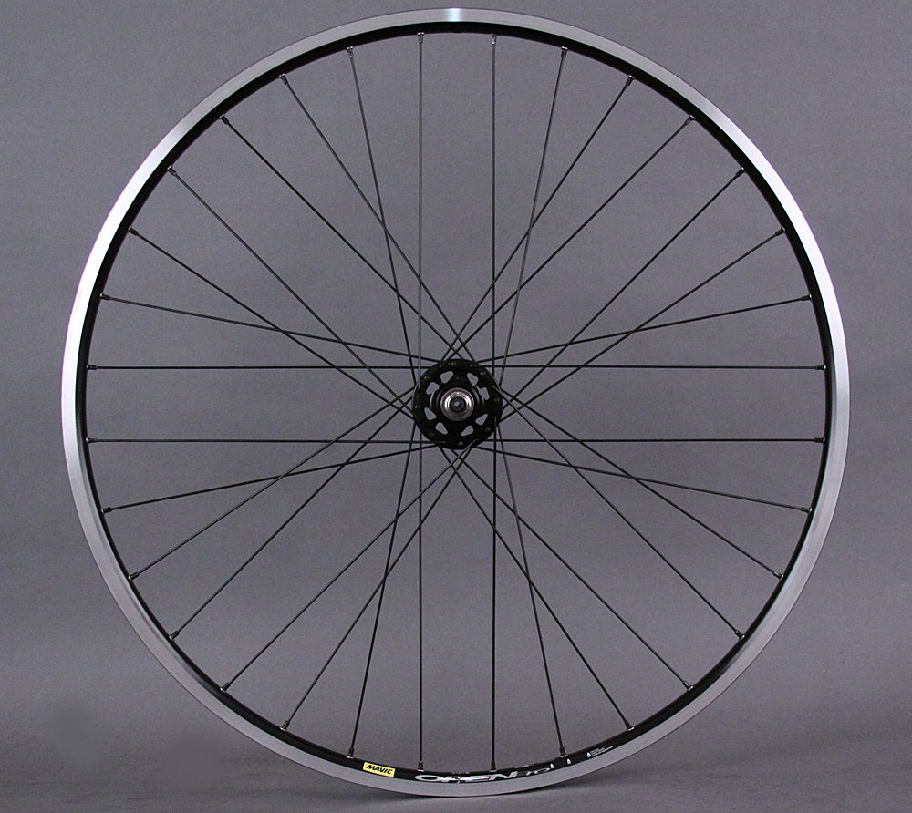 Mavic Open Pro - Black Track Wheel 32 Spoke Formula Hub Wheelset