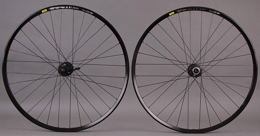 Mavic TN719 29er Shimano XT 6 Bolt Disc Wheelset 15mm Thru Axle
