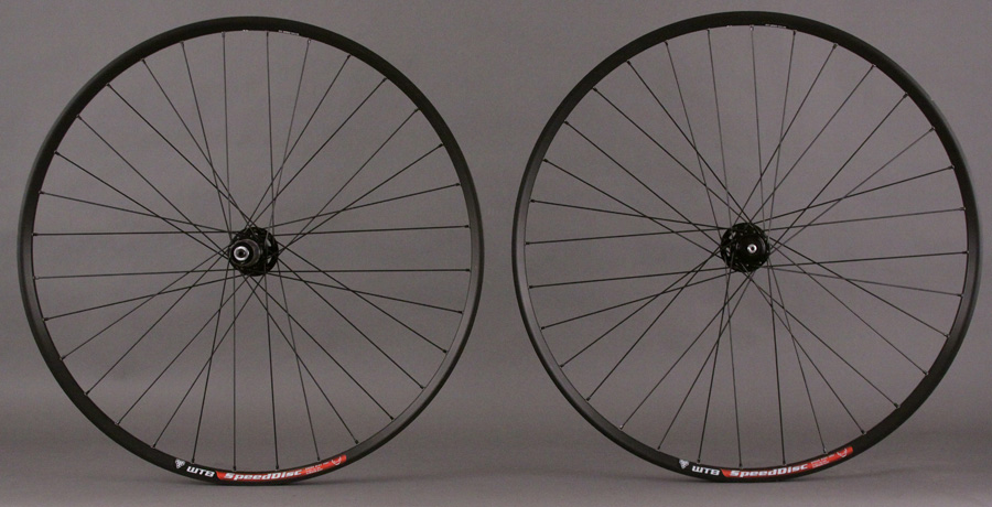 WTB Speed disc Wheelset SRAM X7 Black Hubs 32hole 6 Bolt 29er