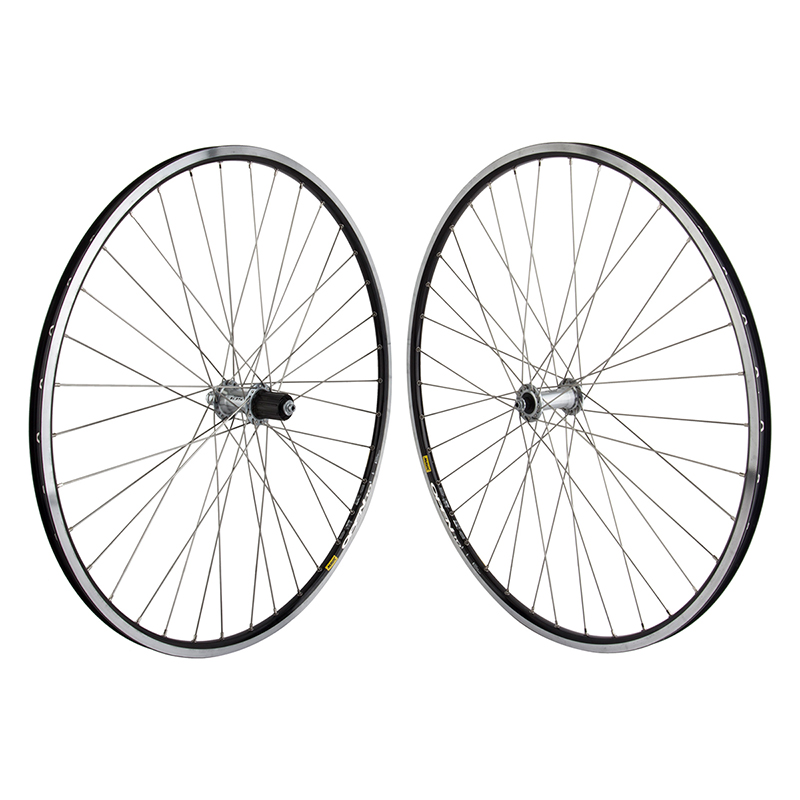 Mavic Open Pro Black Rims Road Bike Wheelset 8-11 speed Shimano