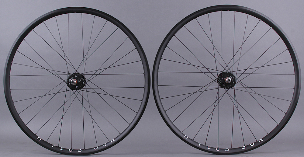 H + Plus Son Archetype Track Bike Wheelset 3x DT Competition