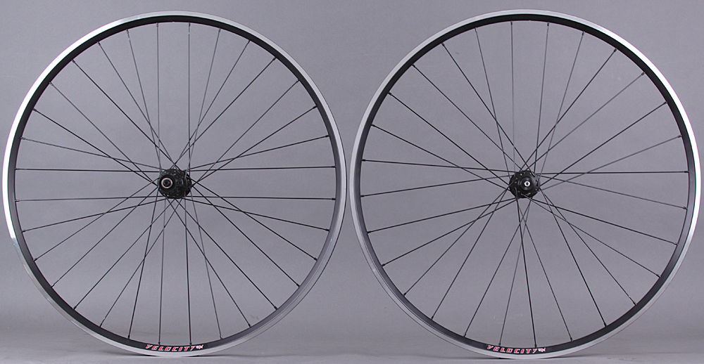 Velocity A23 Rims Road Gravel Cyclocross Wheelset DT 350 Hubs