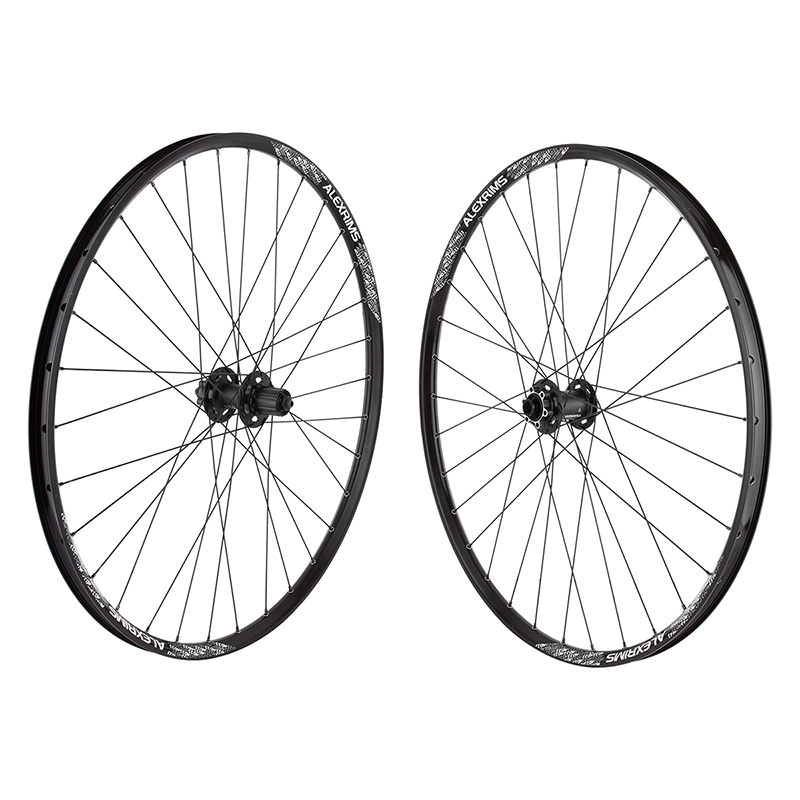 Alex MD23 29er Tubeless Black 32h Shimano 6B 15mm front QR rear