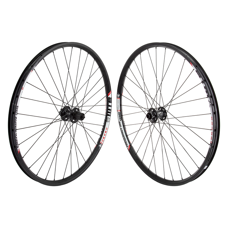 WTB Frequency I29 29er Wheels Deore Hubs 15mm Thru FT QR Rear