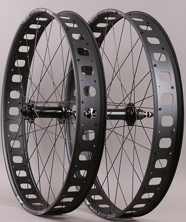 "Sun Mulefut 80 SL 26"" Fat Bike Wheels 15mm Front QR Rear"