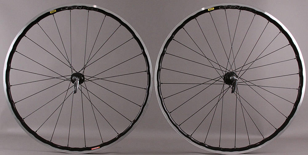 Mavic Open Pro UST Tubeless Black Rims Shimano 9000 Road Wheels