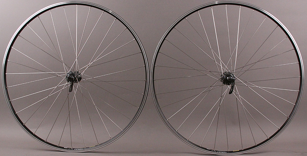 Mavic Open Elite Black Rims Road Bike Wheelset Ultegra Hubs
